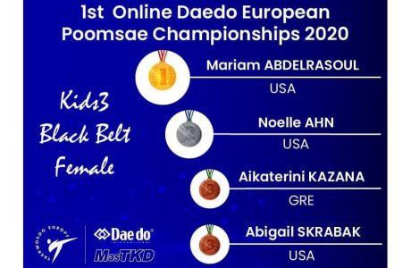 Ολοκληρώθηκαν οι τελικοί του 1ου Παγκόσμιου Διαδικτυακού Τεχνικού Πρωταθλήματος Ταεκβοντο