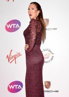 LONDON, ENGLAND - JUNE 19:  Jelena Jankovic attends the WTA Pre-Wimbledon party at Kensington Roof Gardens on June 19, 2014 in London, England.  (Photo by Karwai Tang/WireImage)