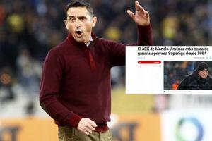 Η ΑΕΚ του Χιμένεθ φλερτάρει με τον τίτλο και γίνεται θέμα στην Marca