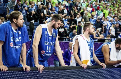 ÅÕÑÙÌÐÁÓÊÅÔ 2017 / ÓËÏÂÅÍÉÁ - ÅËËÁÄÁ / EUROBASKET 2017 / SLOVENIA - GREECE (EUROKINISSI)
