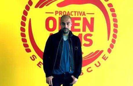 Ο Γκουαρδιόλα πρωταγωνιστής σε video για τους πρόσφυγες