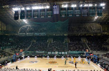 ÅÕÑÙËÉÃÊÁ / ÐÁÏ ÌÐÁÑÔÓÅËÏÍÁ / EUROLEAGUE / PANATHINAIKOS - BARCELONA (ÈÁÍÁÓÇÓ ÄÇÌÏÐÏÕËÏÓ / Eurokinissi Sports)