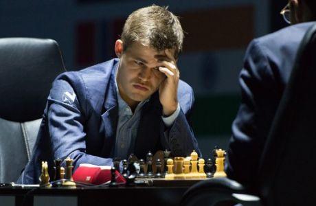 Μάγκνους Κάρλσεν: ο παγκόσμιος πρωταθλητής στο σκάκι είναι τεμπέλης