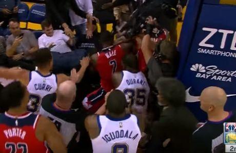 Αντί για NBA, Smackdown στο Wizards - Warriors!
