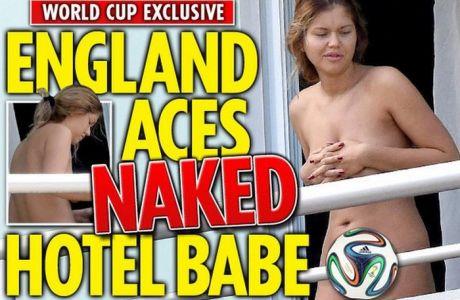 Αναστάτωση με γυμνή φίλαθλο στην εθνική Αγγλίας (PHOTO)
