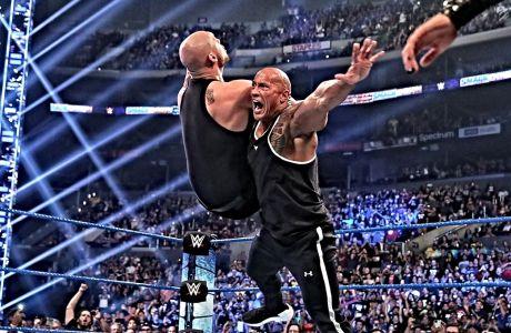 O Rock σε μια από τις τελευταίες του μάχες στο ρινγκ
