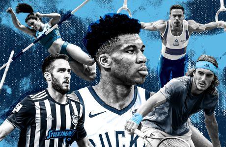 Οι 30 καλύτεροι Έλληνες αθλητές κάτω των 30