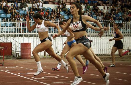 Δεύτερη ημέρα αγωνισμάτων στο Πανελλήνιο Πρωτάθλημα στίβου εφήβων νεανίδων στην πόλη των Τρικάλων την Κυριακή 17 Ιουνίου 2018