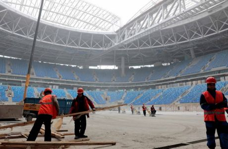 Πρόβλημα στη Ρωσία με γήπεδο 1.000.000.000 ευρώ!