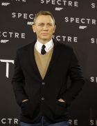 Daniel Craig poses for photographers on the occasion of a photo call of the latest James Bond film Spectre, in Rome, Tuesday, Oct. 27, 2015. (AP Photo/Gregorio Borgia)