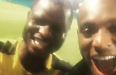 Γουακάσο και Εμποκού στο πιο τρελό VIDEO της ημέρας