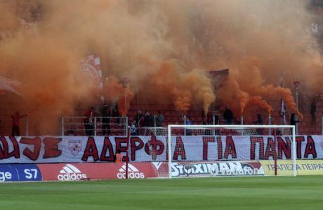 SUPERLEAGUE / ΟΣΦΠ - ΠΛΑΤΑΝΙΑΣ (ΒΑΣΙΛΗΣ ΜΑΡΟΥΚΑΣ / Eurokinissi Sports)