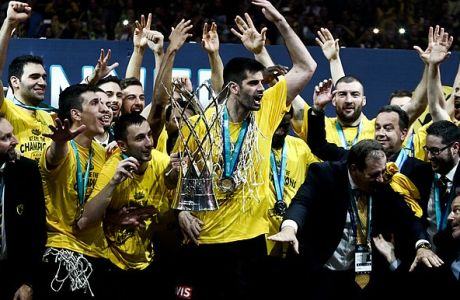 06/05/2018 AS Monako Vs AEK for the basketball Champions League final four final at the OAKA Stadium, in Athens  Photo by Andreas Papakonstantinou / Tourette Photography