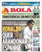 """""""Αγανακτισμένος ο Ρονάλντο, θέλει να αποχωρήσει από τη Ρεάλ"""""""