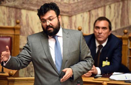 Συζήτηση επίκαιρων ερωτήσεων στην Βουλή την Παρασκευή 10 φεβρουαρίου 2017. (EUROKINISSI/ΓΙΩΡΓΟΣ ΚΟΝΤΑΡΙΝΗΣ)