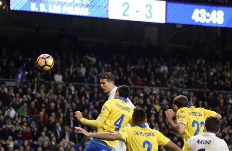 Ματσάρα στην Μαδρίτη: Ρεάλ-Λας Πάλμας 3-3!