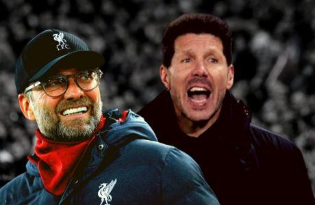 Γιούργκεν Κλοπ και Τσόλο Σιμεόνε, αποψινοί αντίπαλοι στο Champions League