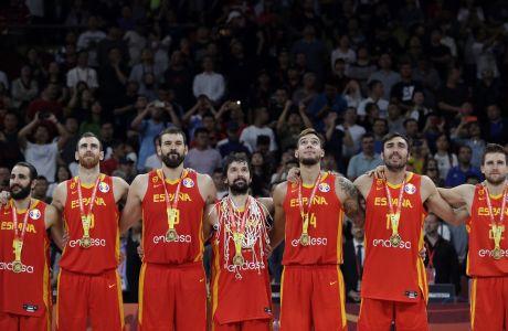 Στην κορυφή του κόσμου η Ισπανία, για δεύτερη φορά στην ιστορία της