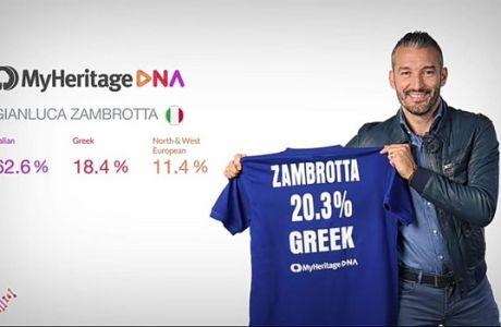 Fact: Ο Τζαμπρότα είναι Έλληνας και ο Ζιλμπέρτο Σίλβα δεν είναι Βραζιλιάνος