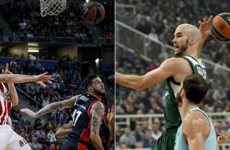"""Εβδομάδα Euroleague με """"καυτά"""" ματς και εκατοντάδες ειδικά από το Stoiximan.gr"""