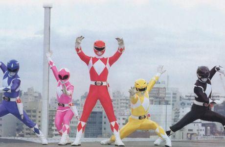 Στιγμιότυπο από επεισόδιο των Power Rangers