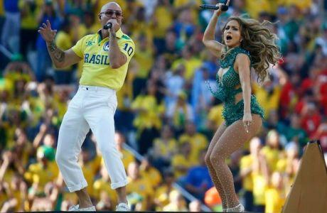 H τελετή έναρξης του Παγκοσμίου Κυπέλλου (PHOTOS+VIDEOS)