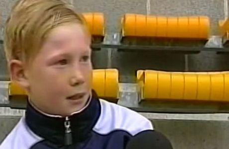 Σε άλλη αγγλική ομάδα ονειρευόταν να παίξει ο... 11χρονος Ντε Μπράινε!