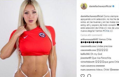 """""""Kαυτό"""" μοντέλο του Playboy δίνει κίνητρο στην εθνική Βραζιλίας για να... χάσει!"""