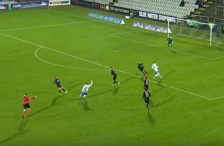 Απίθανο γκολ σε ματς της Οντένσε