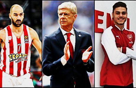 Αποθέωση Βενγκέρ σε Μαυροπάνο και ελληνικό μπάσκετ!