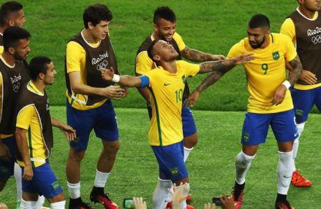 Ο Νεϊμάρ έσπασε την κατάρα του χρυσού της Βραζιλίας στους Ολυμπιακούς Αγώνες