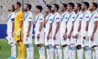 Η Εθνική Ελλάδας σε παράταξη πριν από την αναμέτρηση με τη Μολδαβία για τη φάση των ομίλων του Nations League 2020-2021 στο Ολυμπιακό Στάδιο | Κυριακή 11 Οκτωβρίου 2020