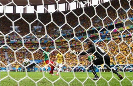Ο Νεϊμάρ ανοίγει το σκορ για τη Βραζιλία