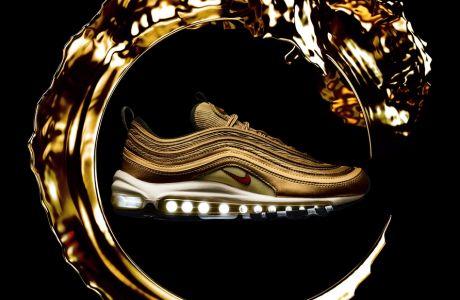 Tο Nike Air Max 97 Metallic Gold έρχεται στην Ελλάδα