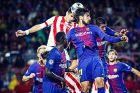 """Με αυτή την κεφαλιά ο Δημήτρης Νικολάου σκοράρει στο """"Camp Nou"""" (Μπαρτσελόνα - Ολυμπιακός 3-1, Champions League 2017-2018)"""