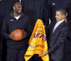 Η οικειότητα και η αλληλοεκτίμηση του Κόμπε Μπράιαντ με τον Μπαράκ Ομπάμα είναι αμοιβαία