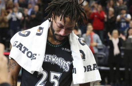 Τα δάκρυα του Ντέρικ Ρόουζ είναι το ίδιο το μπάσκετ