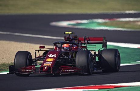 Ο Σαρλ Λεκλέρ ήθελε, αλλά δεν μπορούσε ν' ανταποκριθεί στις ανάγκες του GP στην Τοσκάνη
