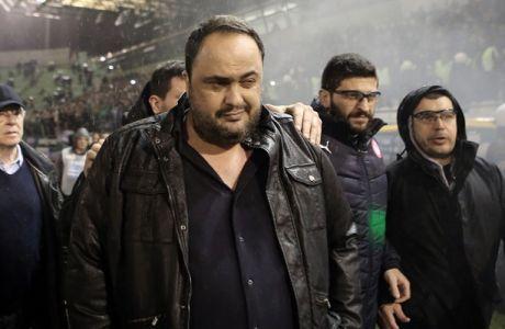 """Μαρινάκης: """"Ούτε στο Ιράκ αυτά! Συλλυπητήρια στον Παναθηναϊκό!"""" (VIDEO)"""