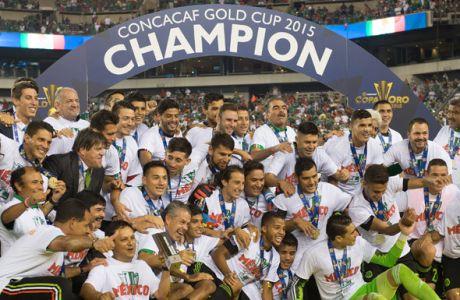Κατέκτησε το Gold Cup το Μεξικό