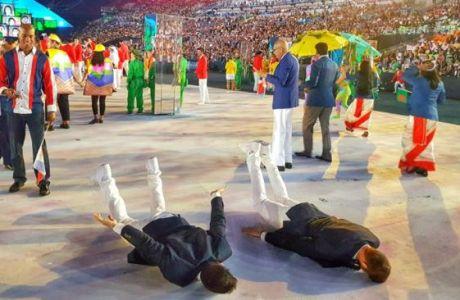 Νοτσιόνι-Καμπάτσο τρολάρουν ακόμη και στους Ολυμπιακούς Αγώνες!