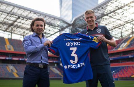 Η πιο περίεργη παρουσίαση παίκτη έγινε στη Ρωσία από την ΤΣΣΚΑ