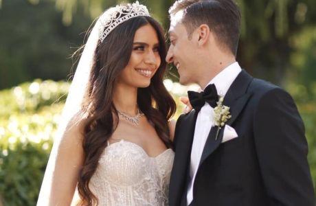 O Μεσούτ Οζιλ την ημέρα του γάμου του