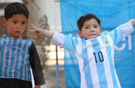 Το όνειρο έγινε πραγματικότητα: το 6χρονο παιδί συναντησε τον ήρωά του, Μέσι!