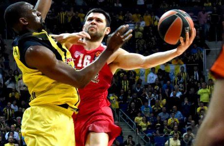ÅÕÑÙËÉÃÊÁ / ÖÅÍÅÑÌÐÁ×ÔÓÅ - ÏÓÖÐ / EUROLEAGUE / FENERBAHCE - OLYMPIAKOS (Eurokinissi Sports)