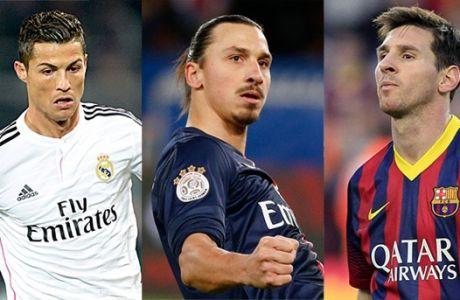 Οι 10 πιο ακριβοπληρωμένοι ποδοσφαιριστές του κόσμου