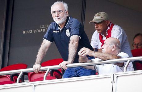 Η εμφάνιση του ΠΑΟΚ κόντρα στον Άρη (0-0) για την τελευταία αγωνιστική των playoffs της Super League 2019-2020, προκάλεσε δυσαρέσκεια στην διοίκηση του 'Δικεφάλου', με τον Ιβάν Σαββίδη να τιμωρεί με πρόστιμο τους παίκτες. ΦΩΤΟΓΡΑΦΙΑ: Eurokinissi Sports