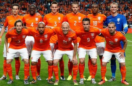 H νέα φανέλα της εθνικής Ολλανδίας θυμίζει...Βραζιλία!!