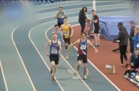 Αθλητής 800 μέτρων χάνει την πρωτιά από... ακόντιο