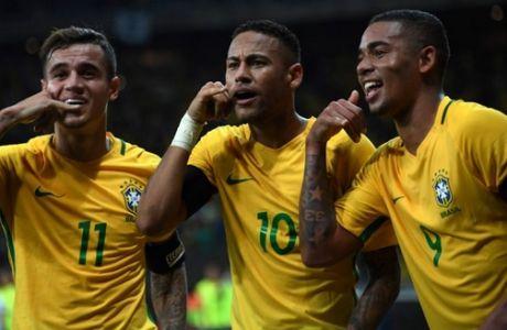 O Νεϊμάρ χόρευε... σάμπα και η Βραζιλία έριξε τριάρα στην Αργεντινή!